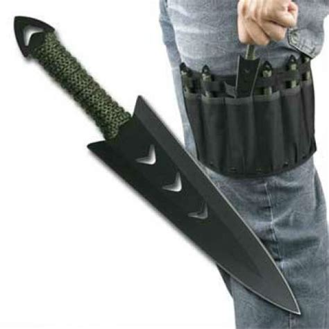 throwing knifs throwing knife set w leg holster shut up and take my money