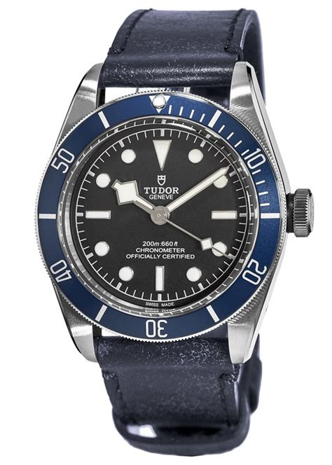tudor   heritage black bay mens