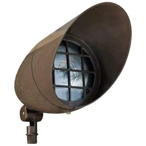Outdoor Directional Lighting Filament Design Skive 1 Light Bronze Outdoor Directional Spot Light Cli Dbm2420 The Home Depot