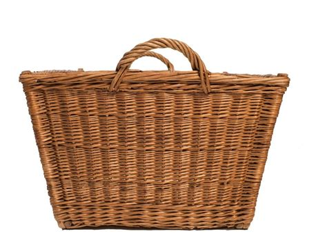 handwoven country basket at 1stdibs - Country Baskets