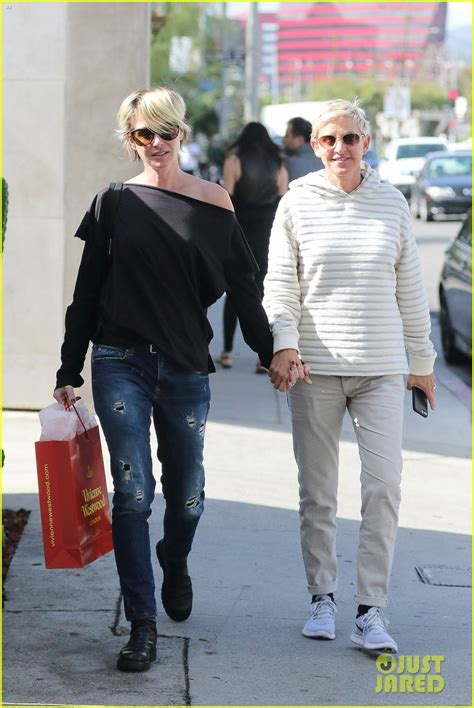 degeneres and portia degeneres portia de wallpaper