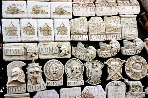 rome decoration hand souvenir roma stock image image of decor decorations
