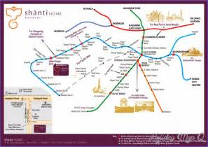 Delhi Metro Map by Delhi Subway Map Map Holiday Travel Holidaymapq Com