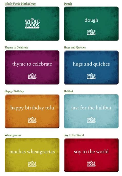 Wholefoods Gift Cards - whole foods gift cards humor pinterest gifts stockings and food gifts