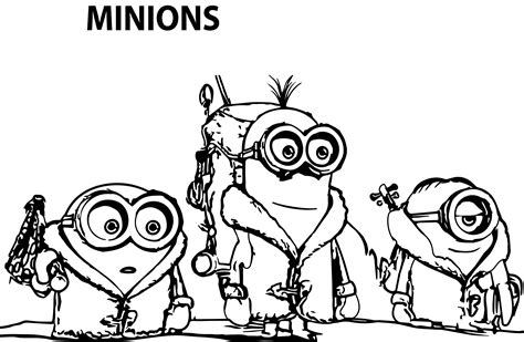 minions movie coloring pages to print minion movie minions coloring page wecoloringpage
