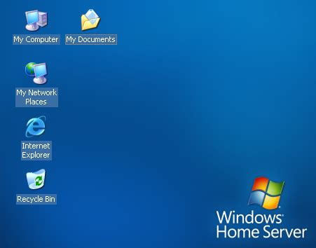 installing windows home server