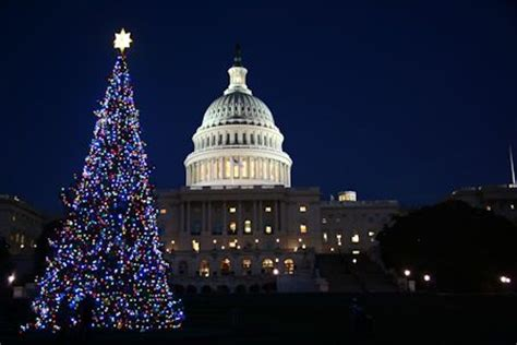 when do christmas decorations go up in washington dc washington d c in america