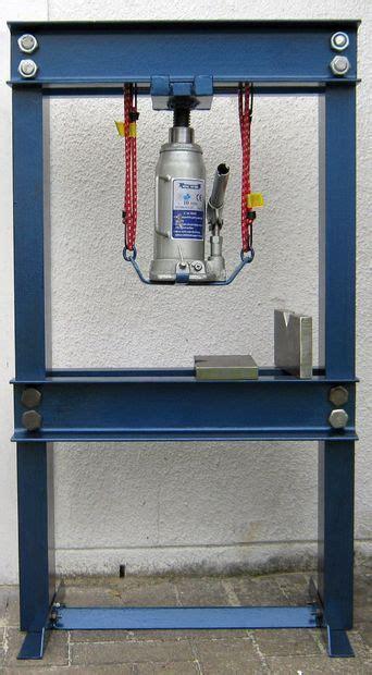 Garage Home Plans by Build A 10 Ton Hydraulic Press