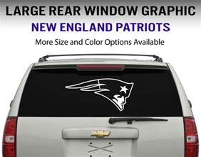 new patriots car decal new patriots window decal graphic sticker car