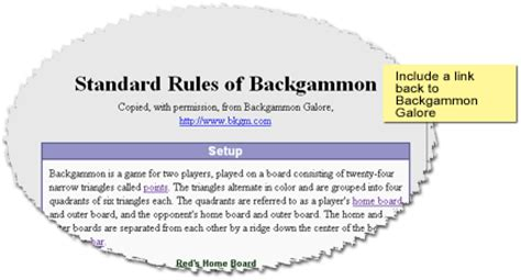 printable backgammon directions copying backgammon rules
