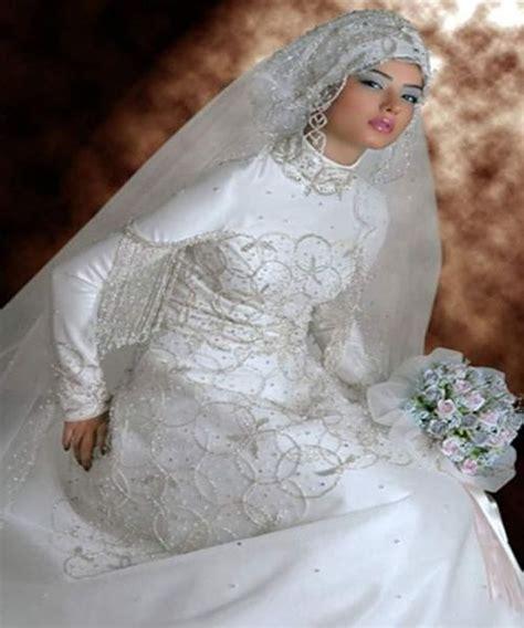 Wedding Dress Muslim by Modern Muslim Wedding Dresses Design With Veil