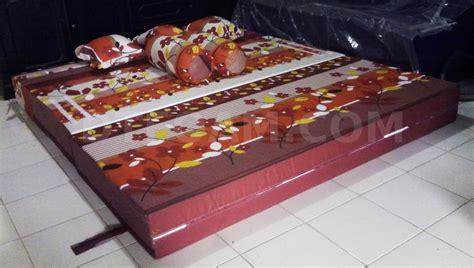 Kasur Inoac Cengkareng sofa bed kasur inoac autumn lapis merah maroon3 dtfoam