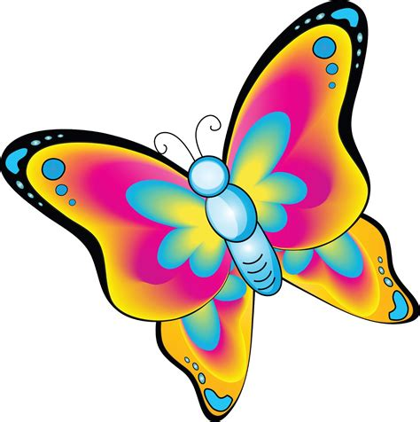 Cartoon Butterflies Clipart Best Animated Images Of Butterfly