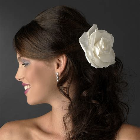 flower wedding hair clip fleur bridal hair clip flower olivier laudus