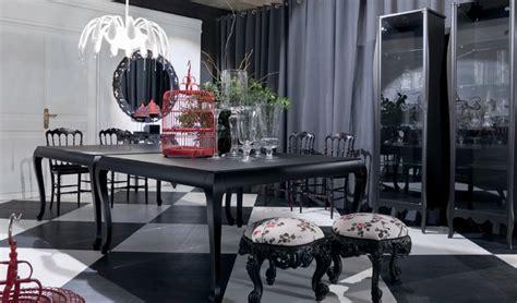 modern baroque living room black and white dining room modern baroque style