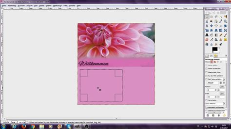 layout design gimp layout mit gimp 2 erstellen howrselayout youtube