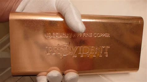 Copper Bar Provident Metals 10 Pound Copper Bar Review Opinions