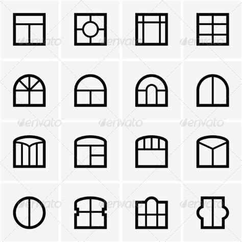 house windows company window icons by barbulat graphicriver