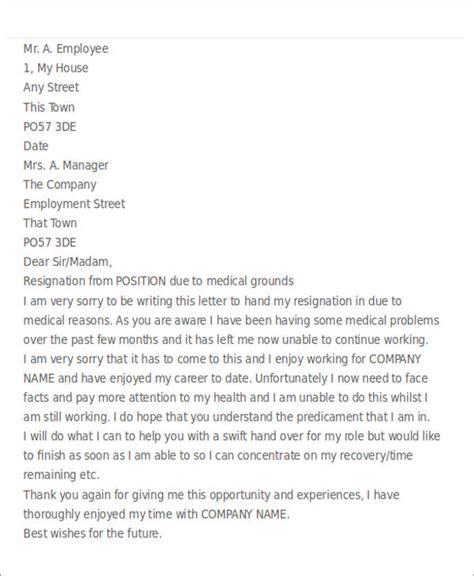 5 resignation letter for sles sle templates