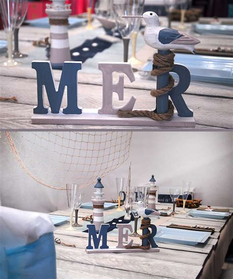 Decoration Table Mer by Theme Mariage En D 233 Coration
