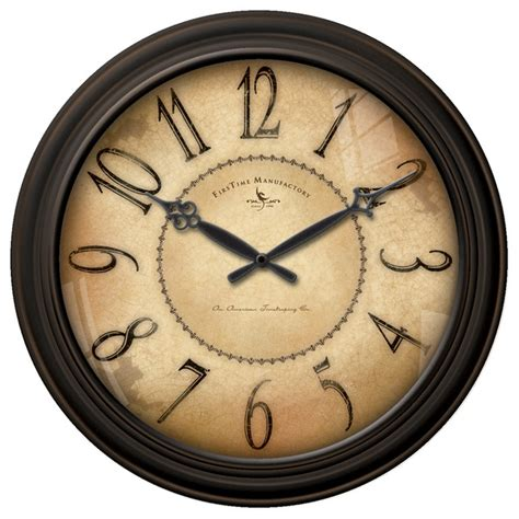 traditional wall clock taylor road wall clock traditional wall clocks by