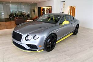 Bentley Continental Gt V8 2017 Bentley Continental Gt V8 S Black Edition Stock