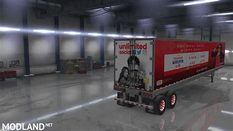 volvo vnl  combo skin mod  american truck simulator ats