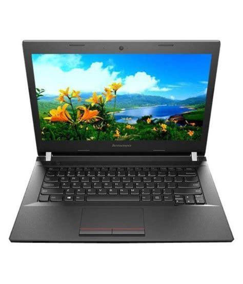 lenovo e41 80 notebook 6th intel i5 4gb ram 500gb hdd 35 81cm 14 1 dos black