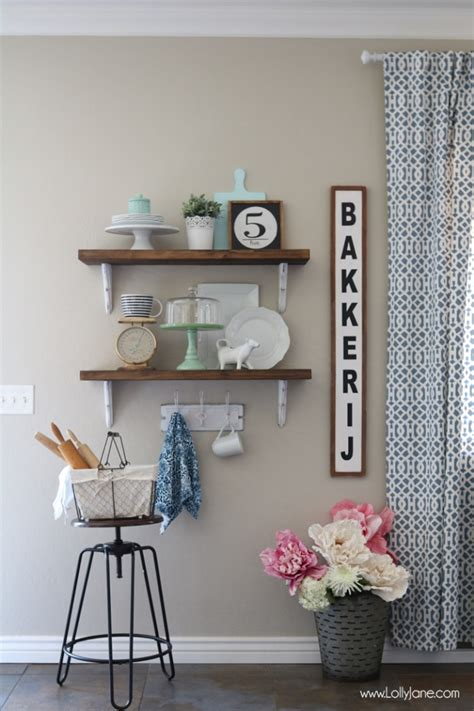 farmhouse chic dining room shelves 187 lolly
