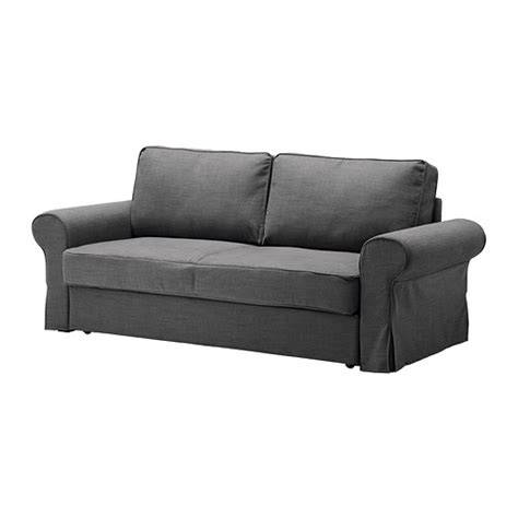 grey sofa bed ikea backabro sofa bed slipcover svanby gray ikea