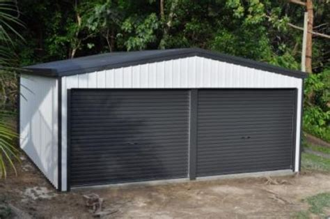 Colorbond Shed by Garage Colorbond