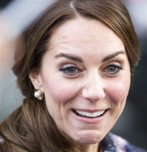 kate middleton wrinkles on forehead kate middleton given a fright in manchester woman s own