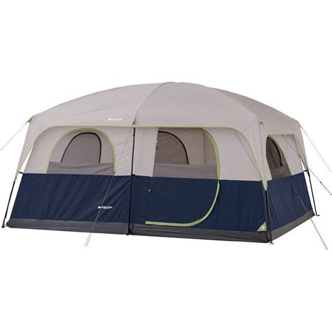 room tent 10 person cing tent 3 room enlarged waterproof outdoor family shelter new ebay