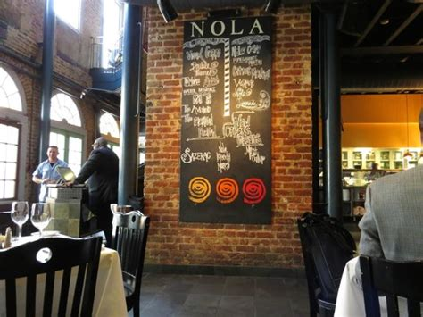 nola best restaurants crab cake picture of nola restaurant new orleans