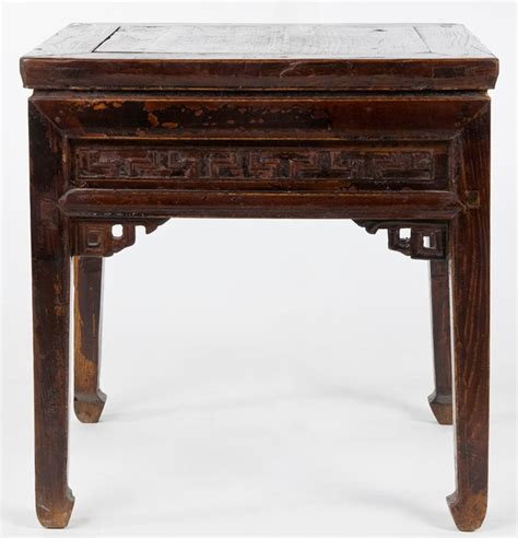 asian accent table antique chinese square stool or low table asian side