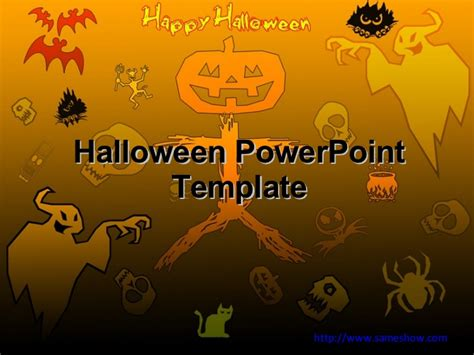 free halloween powerpoint templates download free ppt free halloween powerpoint template