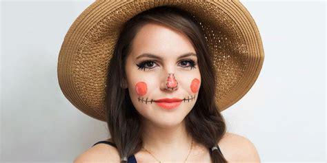 scarecrow makeup  diy halloween costume