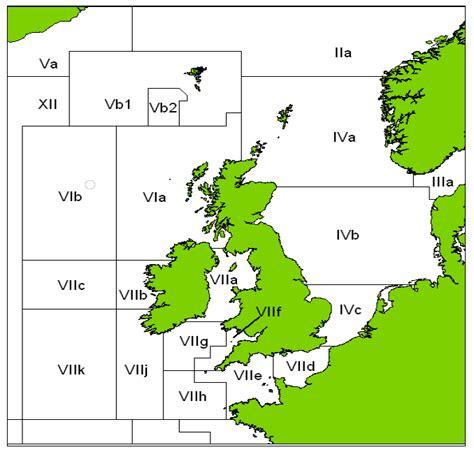 map uk fishing tackle sea bass scottish