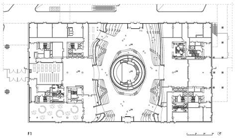 Floor Plan Art mvrdv library in tianjin tops out 07