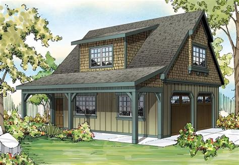 Craftsman House Plans With Detached Garage by Craftsman Garage Plan 59479