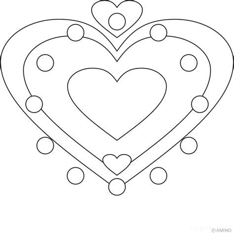 heart mandala coloring pages coloring home