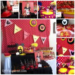 My Craft Garden - mickey mouse theme party diy inspired