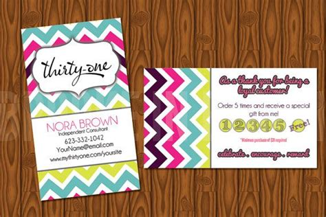Thirty One Gifts Business Cards - custom thirty one gifts business card by brookeinbloomdesigns 8 00 thirty one