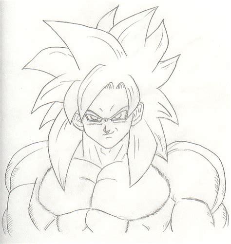 Drawing Goku by Ssj4 Goku By Lynxehh On Deviantart