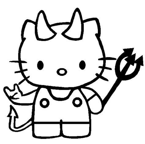 kitty halloween coloring pages girls bratz blog