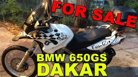 2001 bmw f650gs for sale 2001 bmw f650gs dakar for sale