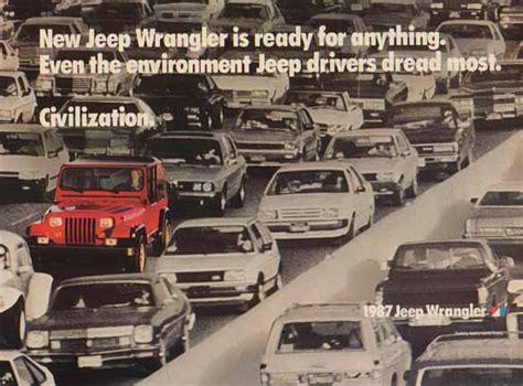 jeep wrangler ads bamboo trading jeep wrangler 1987 ad new jeep wrangler