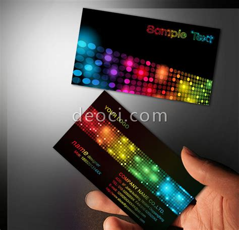 Led Card Template by Led Lights Photoshop Business Card Templates Make Money