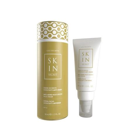 secret skin skin secret creme de rosto hidratante anti idade