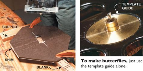router inlay templates how to make a butterfly inlay diy butterfly joints for